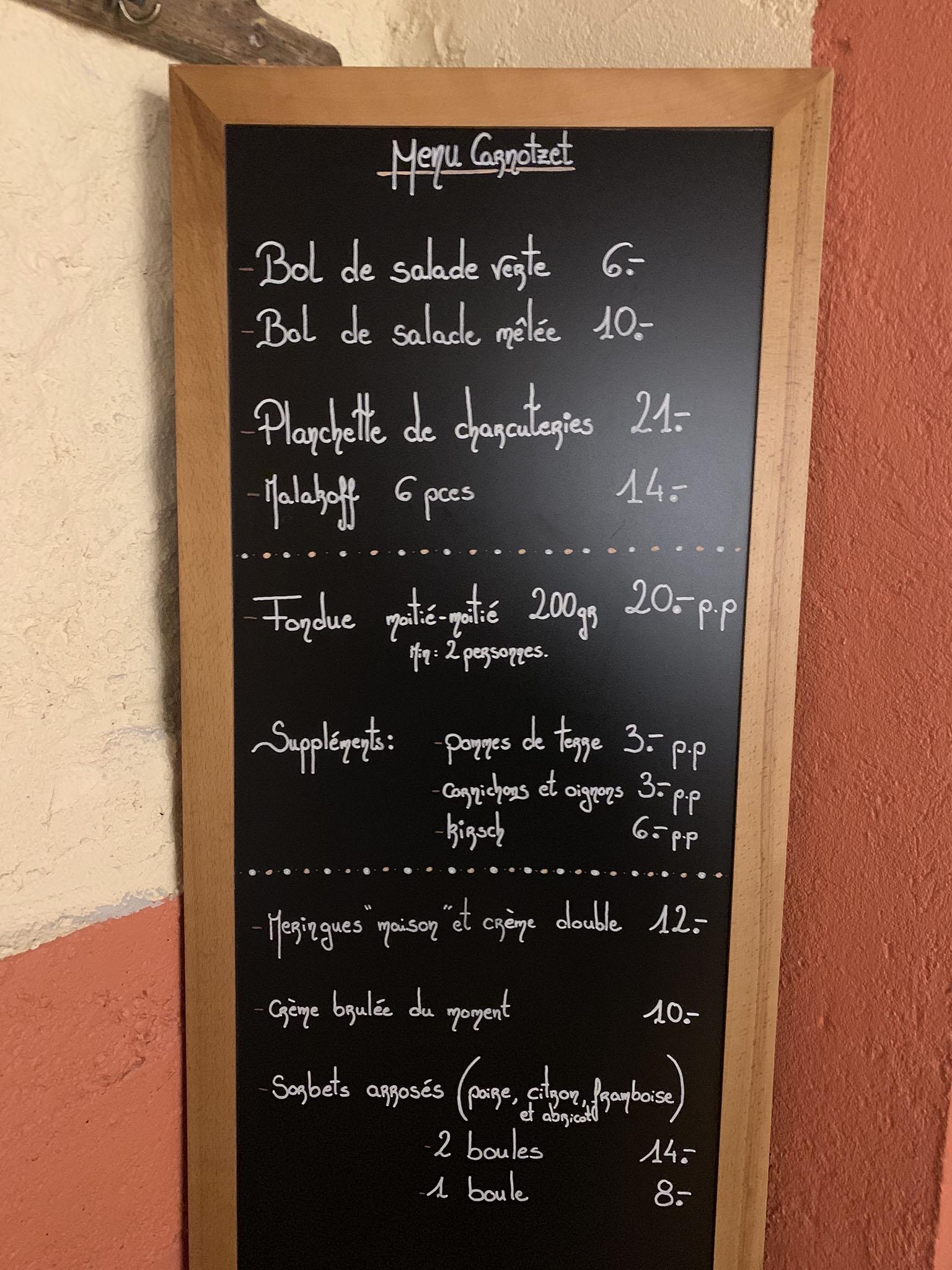 Welcome to l'Auberge Communale de St-Légier - La Chiésaz